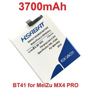 Details about Top Larger Capacity 3700mAh BT41 Battery for Meizu MX4 Pro  MX4PRO Batteries