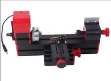 Mini Motorized Lathe Machine Diy Tool Wood Manufacturing Meltalworking Lathe