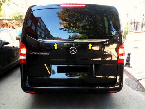 2014Up Mercedes VITO W447 Chrome Rear Windows Under Trim Cover S.STEEL
