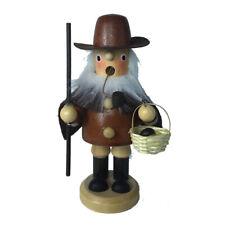 Holz Räuchermännchen Nachtwächter mit Hellebarde 14cm Weihnachts-Deko Duftkerze