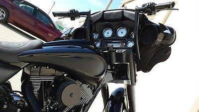 "APE HANGER HANDLEBAR 12"" 4 Harley TOURING ROAD KING ELECTRA STREET GLIDE ELECTRA"