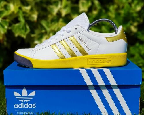 Authentiques 9 Baskets Taille Uk Forest ® Hills Bnwb Blanches Originals Adidas 5 Retro FdUdqHP