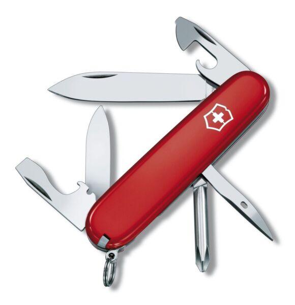 Victorinox Swiss Army Pocket Knife Tinker Red 91mm 53101