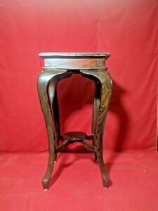 Rosewood-Telephone-Stand-Bed-Side-Table-Victorian-Style-Furniture-Corner-Stand