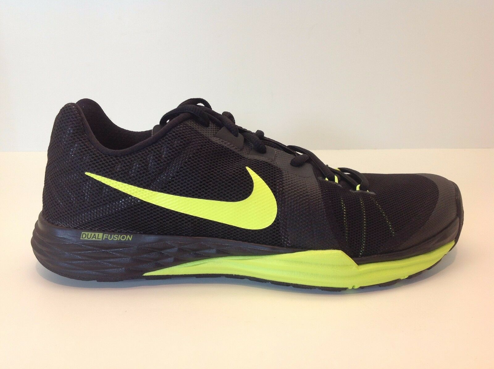 Nike Train Prime Iron DF Men's Size 8-12 Black/Volt New in Box 832219 008