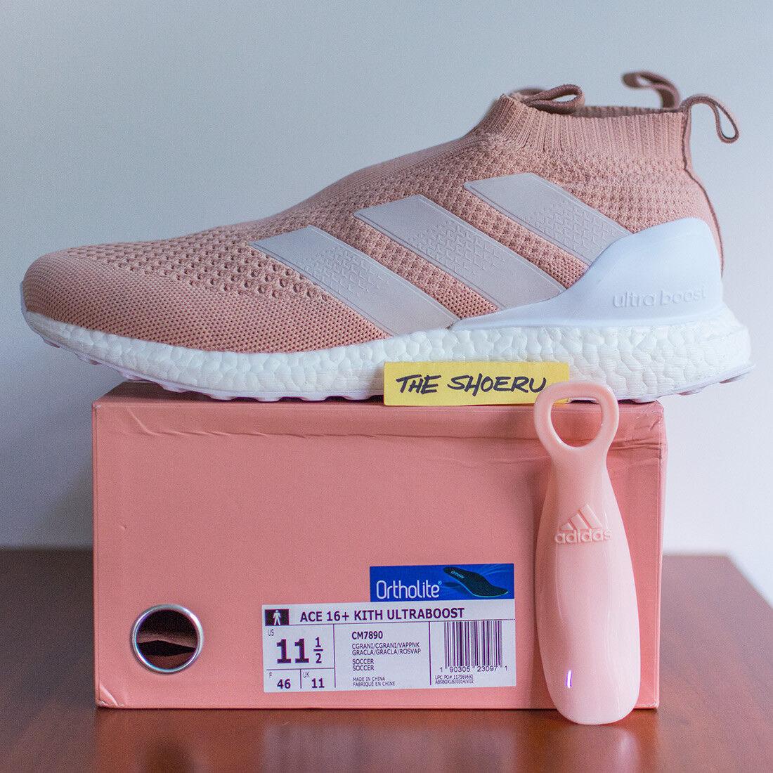 Adidas x Ronnie Fieg Ace 16+ Kith Ultraboost - Flamingo - copa DS Comfortable