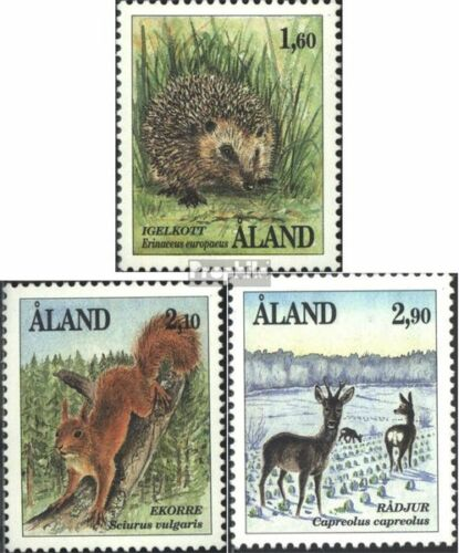FinlandAland 4446 complete issue used 1991 Mammals
