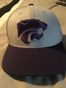 new arrival e1c8a f189a Image is loading Kansas-State-wildcats-new-era-59fifty-hat-cap-