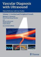 Vascular Diagnosis with Ultrasound: Cerebral and Peripheral Vessels:-ExLibrary