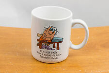 Hallmark - It Is Not Easy For A Night Person To Work Days - Mug - Cup