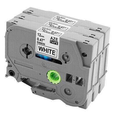3x Label Tape tz-231 12mm 8m für Brother P-Touch H100LB D210VP E110 E110VP