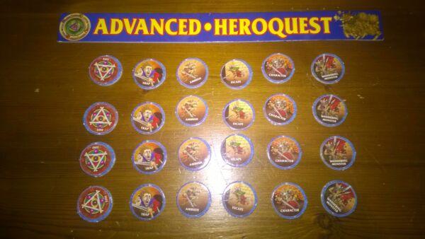 Advanced Heroquest Round Errante Mostro Caos Dungeon Token (prezzo Di Ogni) Ufficiale 2019
