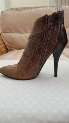Patent Boot Ankle 3 Leather Bnib Size Style gxnAwEqHH