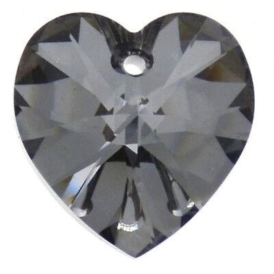 **6 perles Coeurs 10.3 x 10 mm SWAROVSKI  LIGHT TOPAZ AB 6228  **