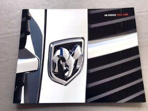 2007-Dodge-16-page-Sales-Brochure-Catalog-Magnum-Charger-SRT-Nitro-Ram-Dakota