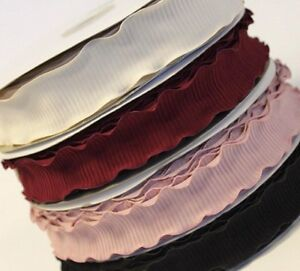 Ruffle-trim-ribbon-38mm-fabric-ribbon-cake-gift-decorating-hamper-wedding-ribbon