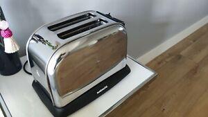 Sabichi Toaster-57495 Stainless Steel 2 Slice Toaster