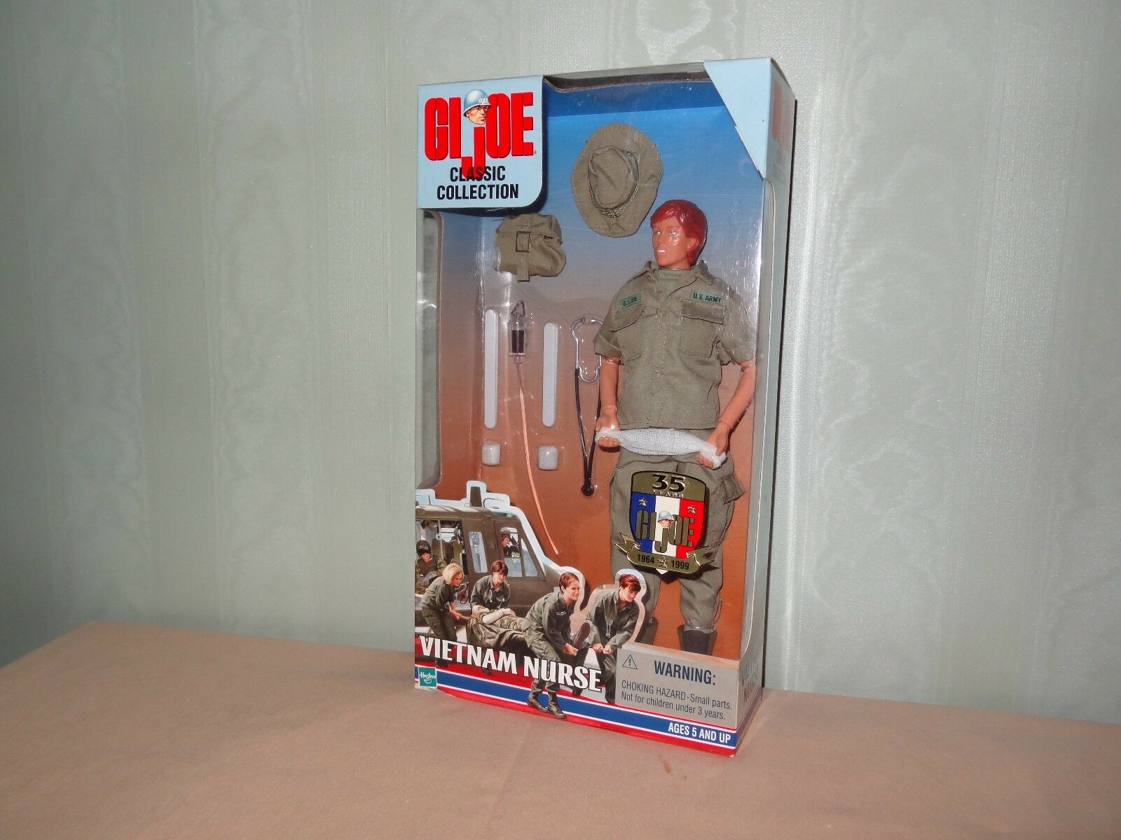 Action figure 1 6 gijoe vietnam nurse-hasbro action man joe geyper man