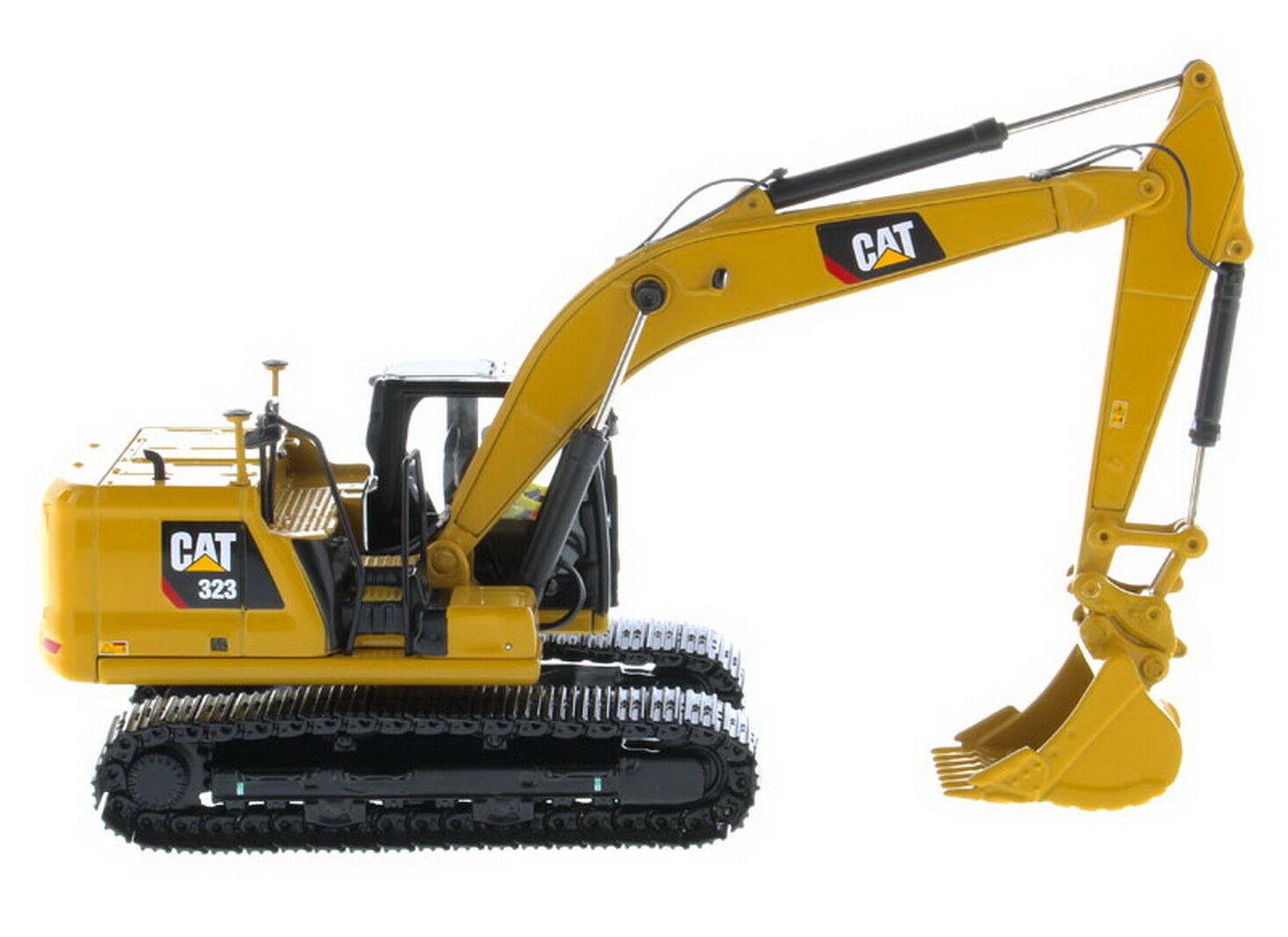 1 50 DM Caterpillar Cat 323 Hydraulic Excavator Next Generation Generation Generation Models 8850f7