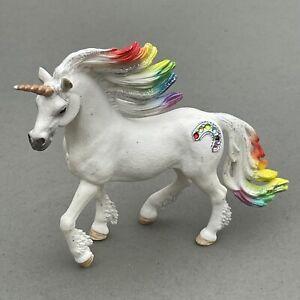 SCHLEICH Figure RAINBOW UNICORN Stallion Bayala Horse Toy