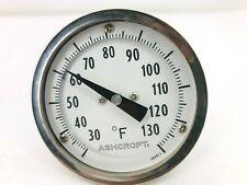 New Ashcroft 100d 1 Temperature Gauge Probe 30 130f