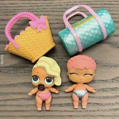 LOT 2 HAT FOR LOL Surprise LiL Sisters  dollS SERIES 3 DOLLHOUSE SDUS