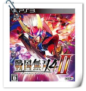 PS3-PLAYSTATION-Games-Sengoku-Musou-Samurai-Warriors-4-II-Action-Koei-Tecmo