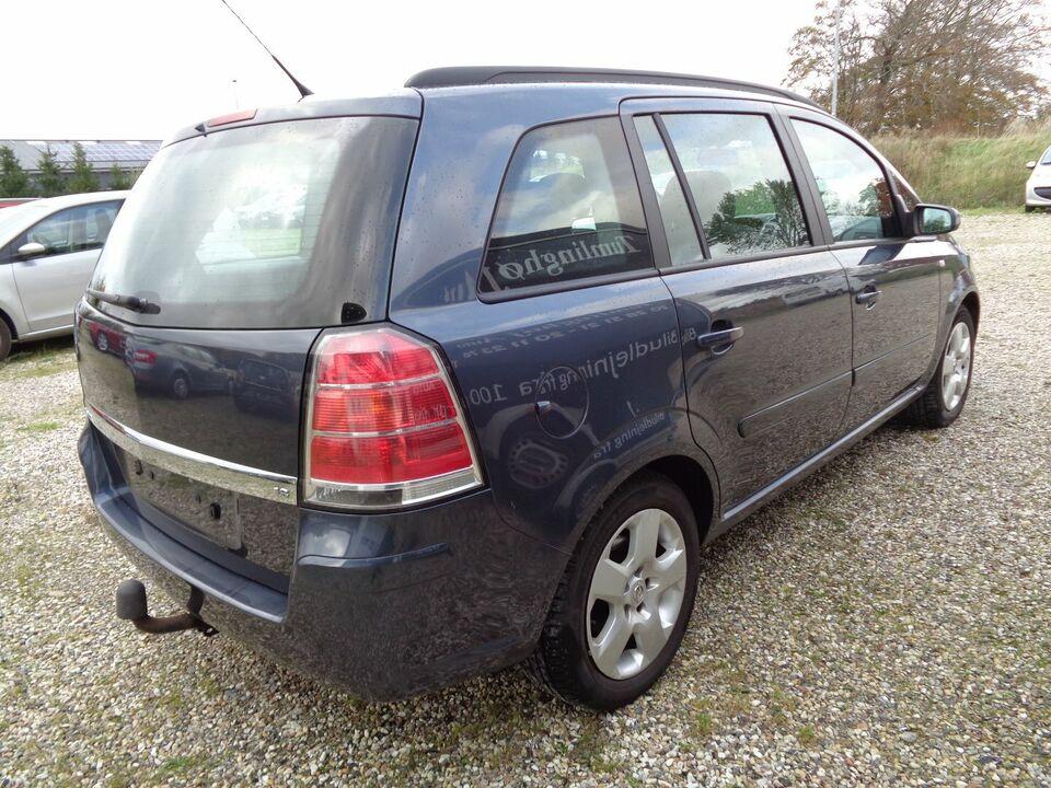 Opel Zafira 1,8 16V 140 Enjoy 7prs Benzin modelår 2006 km