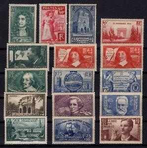 PP137250-FRANCE-YEARS-1937-1938-MINT-MNH-MH-SEMI-MODERN-LOT-CV-161