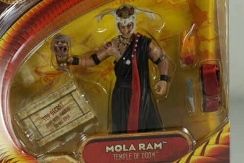 Hasbro Indiana Jones et le Temple Maudit Mola Ram action figure 2008 MOC