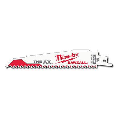 "Milwaukee 48-01-7701 6/"" 8 TPI The Wrecker™ SAWZALL® Blade 100 Pk"