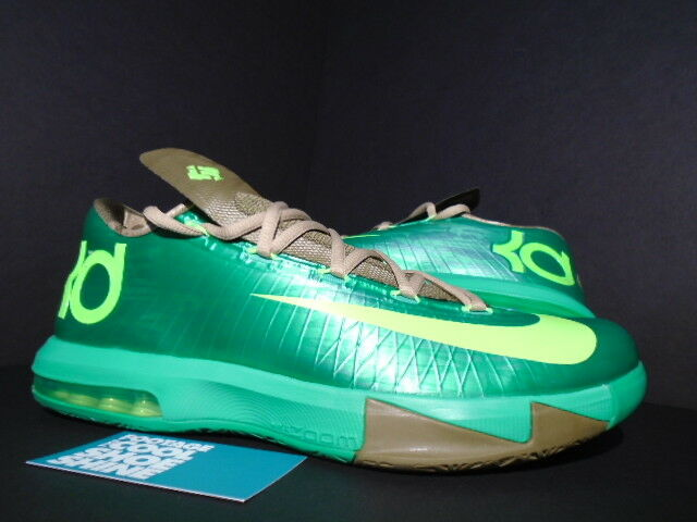 Nike Zoom Kevin Durant KD VI 6 bambú lino manzana Umber 599424-301 gamma verde manzana lino 9049a9