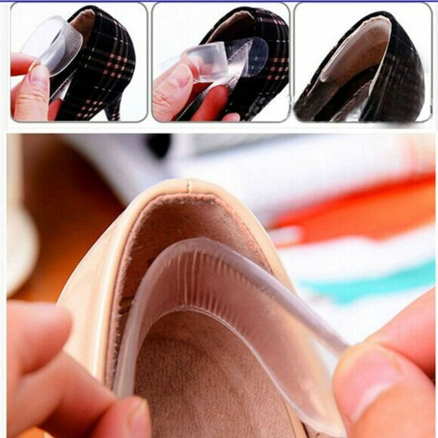 Shoe Protector Invisible Pads Liner Back Heel Insoles Cushion Silicone Gel