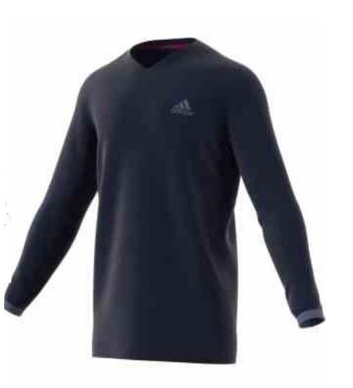 Adidas Adidas Adidas UV Protect Longsleeve navy Gr. M 66e30a
