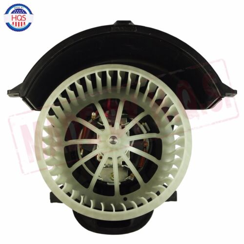 Heater Blower Motor /& Cage Front For 2003-2010 Porsche Cayenne 3.6L 4.5L V8