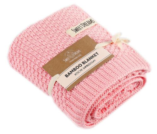 1020 SweetDreams Decke Strickdecke für Babys und Kinder hypoallergen 80x100cm.