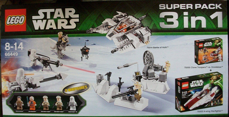 Lego ® 66449 Star Wars Hoth Super Pack 3 in 1 Neu und OVP new sealed