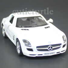 Kinsmart Mercedes Benz SLS Amg Gullwing 1:36 Diecast Toy Car White