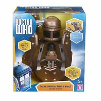 Doctor Dr Who Dalek Patrol Ship With Dalek Figure - Brand & Boxed