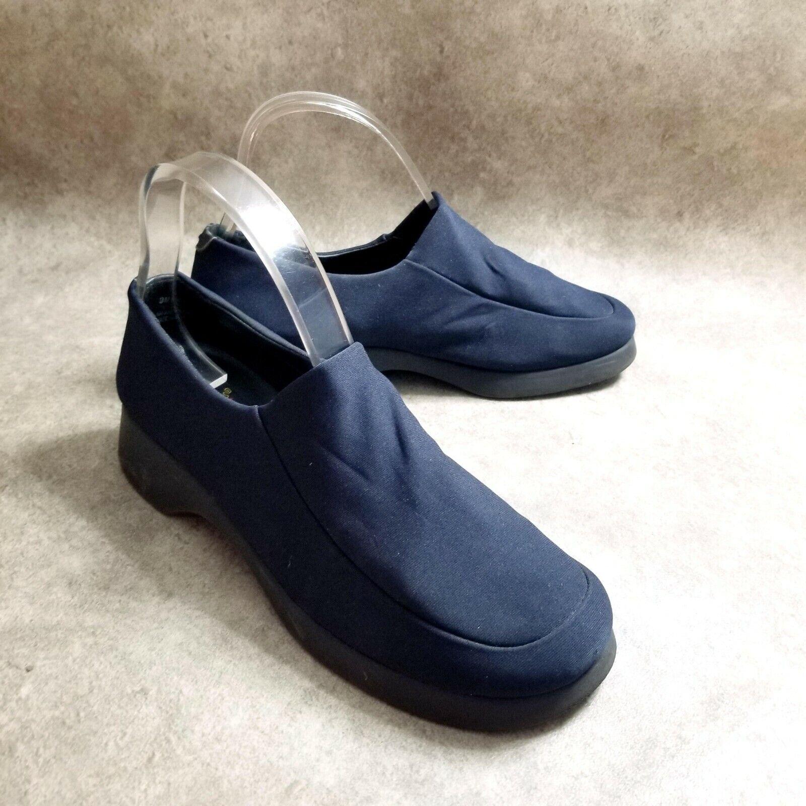Aerosoles Womens 86586 Size 9 Blue Slip On Loafer Comfort Shoes