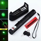 Green Laser Pointer Pen G301 532nm Lazer Visible Beam+18650 Battery+Charger USA
