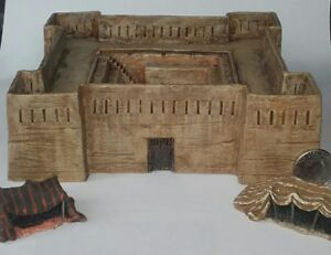 New! 10mm scale  North African Fort  colonial desert North Africa