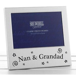 039-Nan-amp-Granddad-039-Grandparent-Gift-Satin-silver-photo-frame-shudehill-Giftware