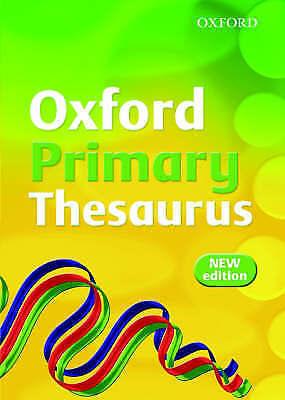 """AS NEW"" OXFORD PRIMARY THESAURUS, Rennie, Susan, Book"