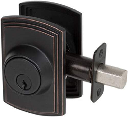 Italian Collection Oil Rubbed Bronze Single Cylinder Deadbolt
