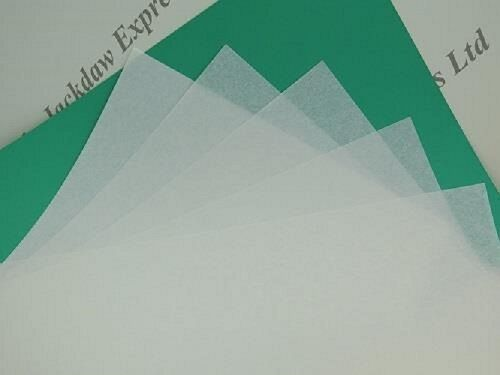 Vellum Parchment White Paper A4 115gsm Suitable for use with Embossing Mat
