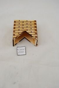 Chimney #6 roof 1//12 scale wooden dollhouse miniature #2406 1pc Houseworks