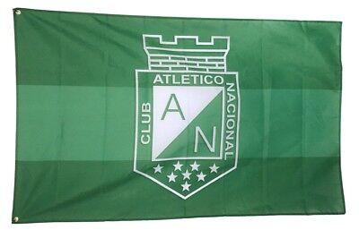 Atletico Madrid Flag Banner 3x5 Colchoneros Spain Futbol Soccer Bandera Vintage