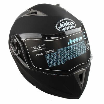 Casco Modular de Moto Doble Visera Cara Completa Protección UV Para Hombre Mujer