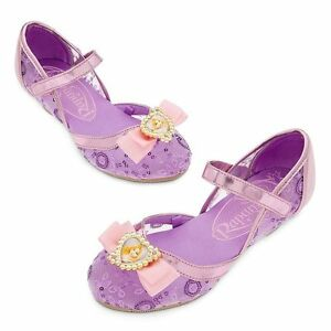 Disney Deluxe Tangled Princess Rapunzel Girls Shoes Size 7/8 9/10 ...